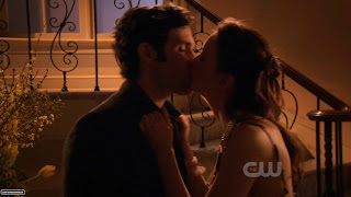 Ден целует Блер, Dan kiss Blair