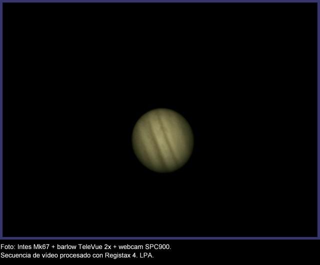 Júpiter, 18 Febrero de 2012. 0972-JUPITER