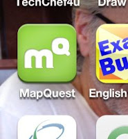 Icon for MapQuest
