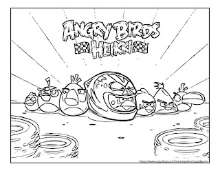 Angry Birds coloring pages Heikki