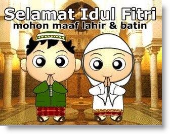 Kumpulan Ucapan Lebaran, Selamat Idul Fitri 1432 H