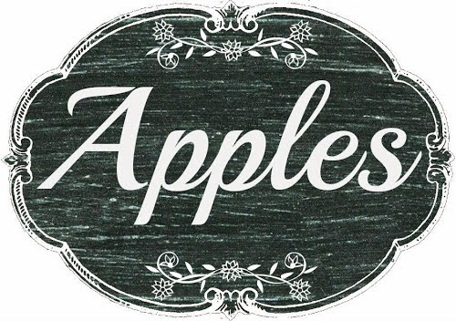 Chalkboard Apple Printable