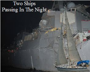 A Midnight Encounter With Navy Ship And What We Learned From It Posted By Andy Mia SAIL Magazine