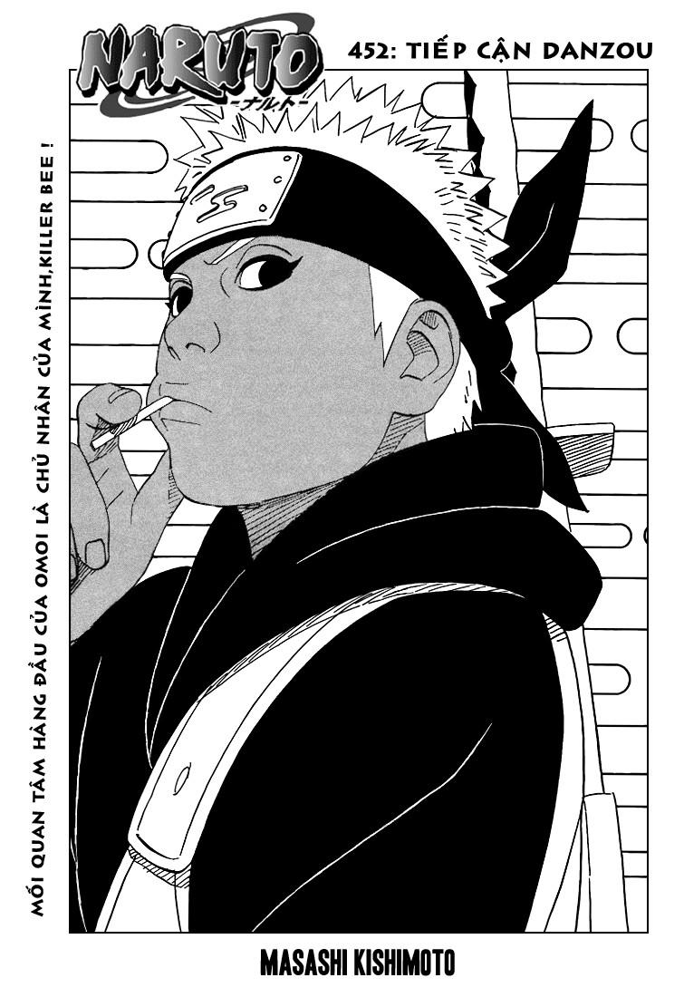 Naruto chap 452 Trang 1 - Mangak.info