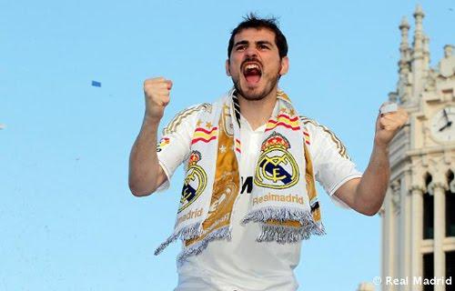 Real Madrid campeón de Liga Iker Casillas