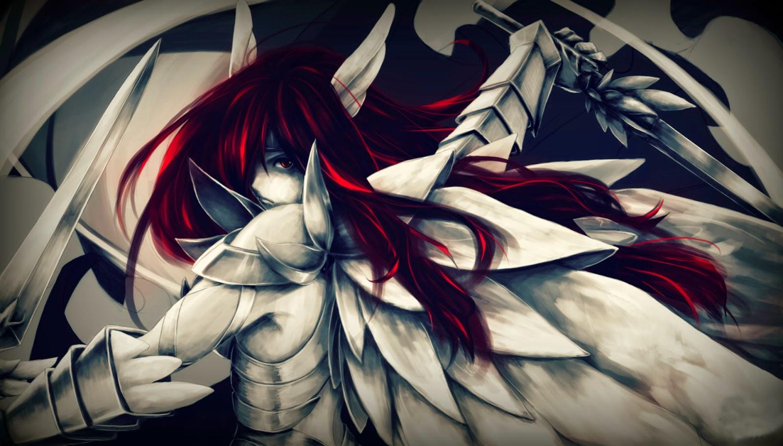 Fairy Tail - Heaven's Wheel Armor Wallpaper