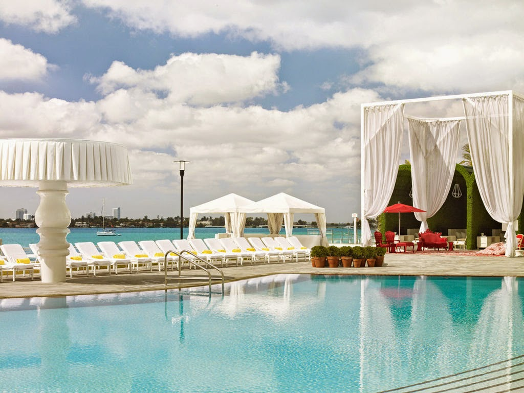 Miami Beach (Florida) - Mondrian South Beach 4.5* - Hotel da Sogno