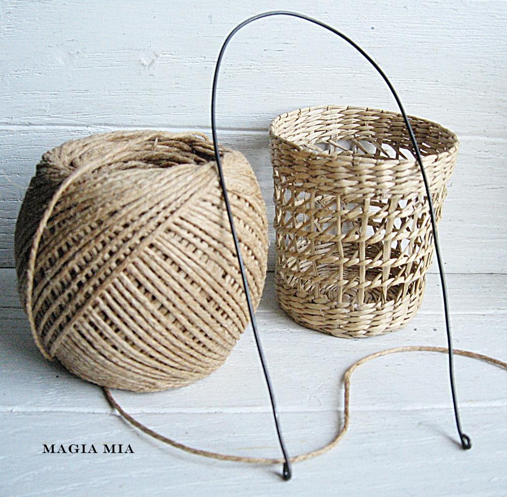 Basket Making Jute : Magia mia march