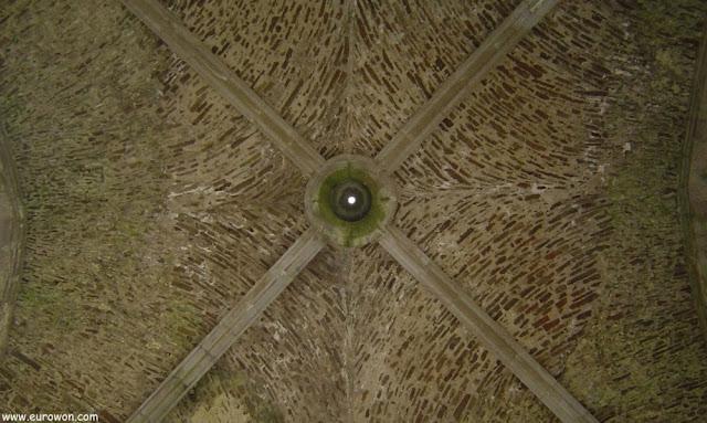 Bóveda central de la Capilla Cormac
