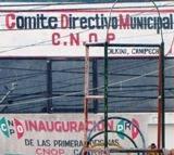 Recauda 200 kilos de véveres y ropa CNOP Calkiní para damnificados Palizada. 4nov11.