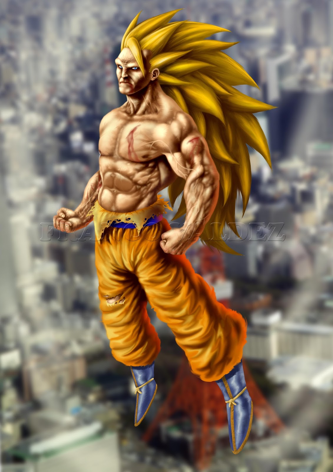 Download image Goku Fase 3 En Proceso PC, Android, iPhone and iPad ...