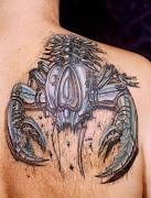 3D Tattoo on Upper Back. at 1:00 AM (tattoo on upper back tattoosphotogallery)