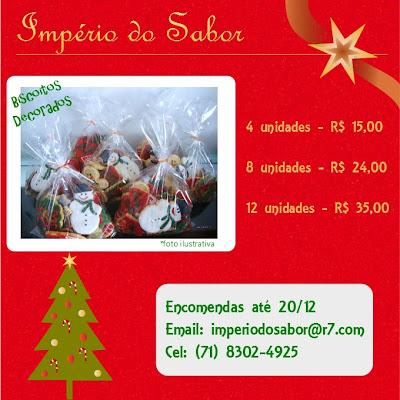 Sugestões de Natal: Império do Sabor