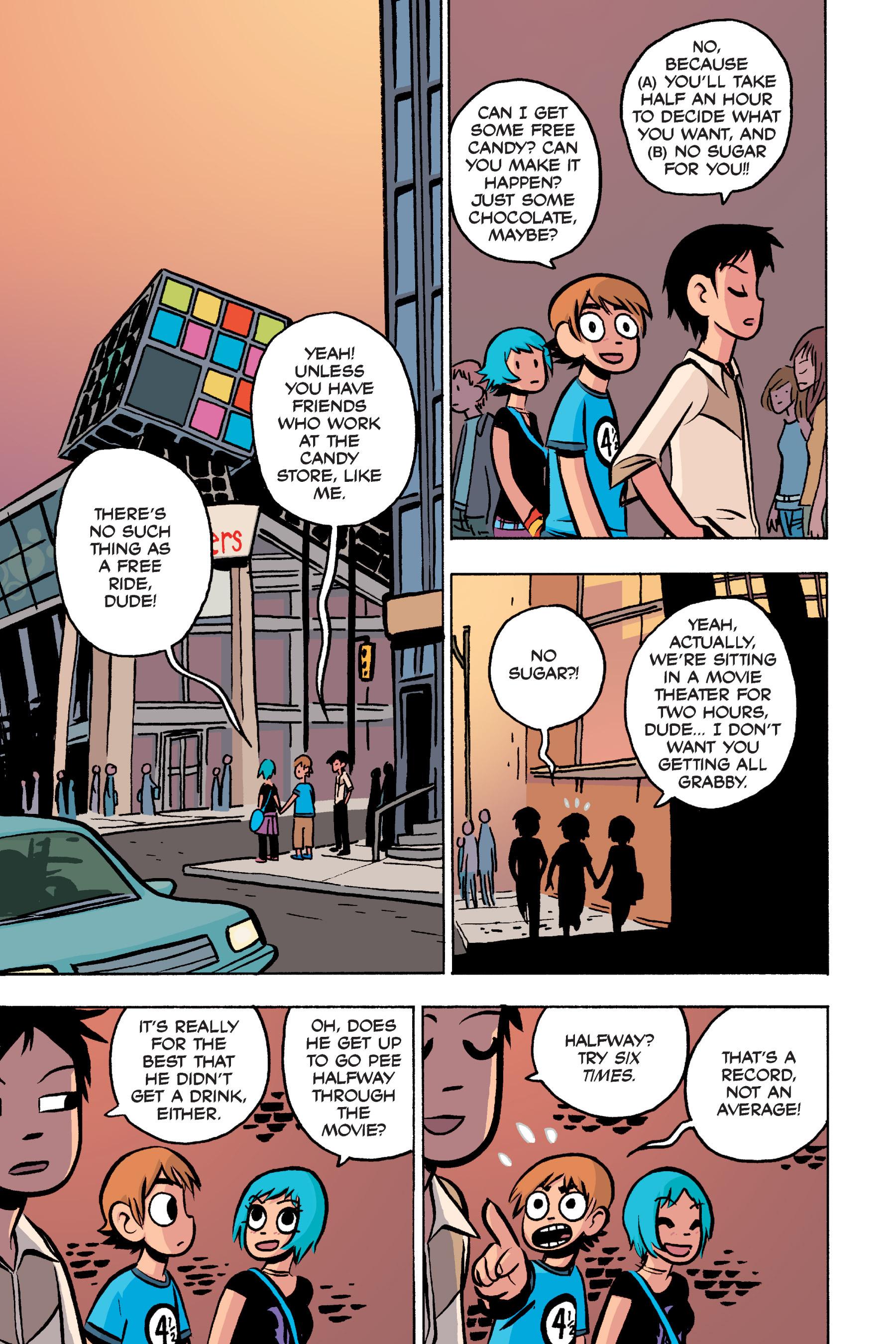 Read online Scott Pilgrim comic -  Issue #3 - 182
