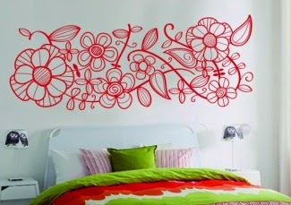 idea decoración, pegatinas de pared, stickers de pared, vinilos baratos