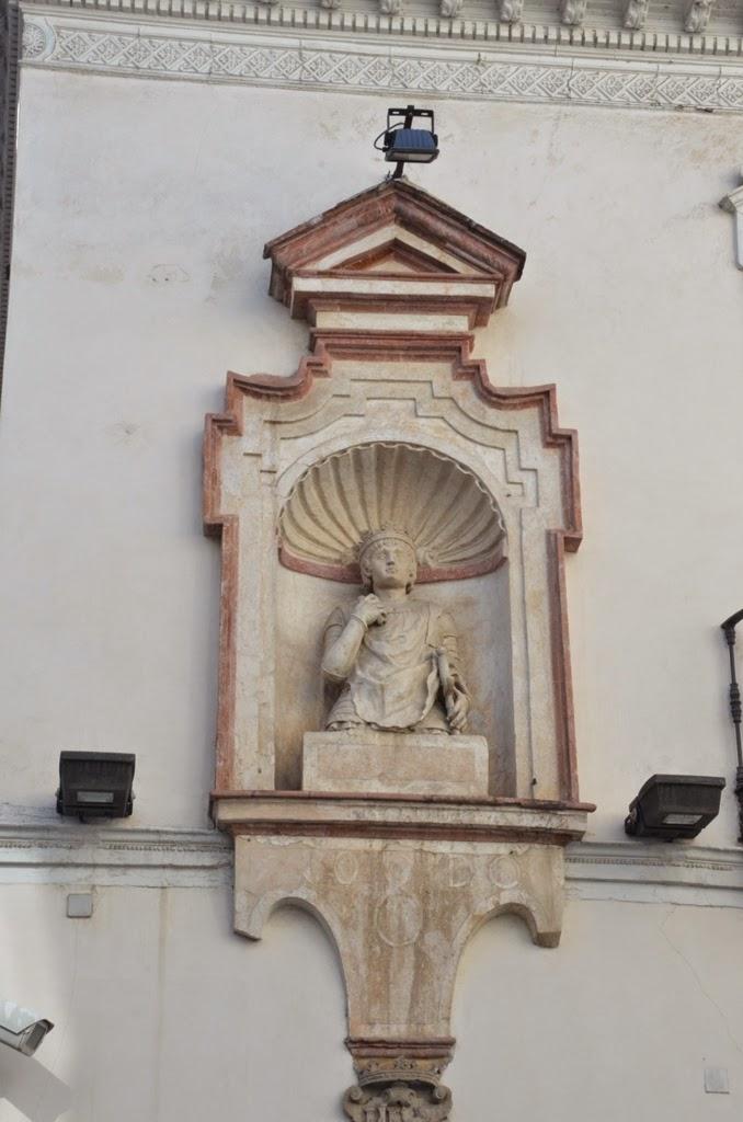 Hornacina con busto Pedro I - Sevilla