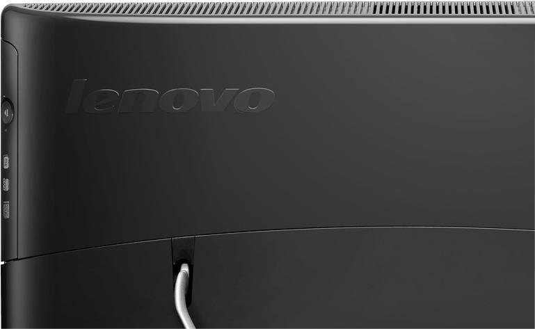 логотип Lenovo на задней крышке моноблока