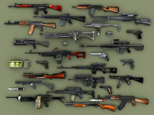 Artesanato Pernambuco ~ Guia de Operações Militares Armas de Fogo Tipos
