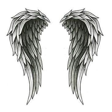 tatuajes de alas en la espalda y su significado belagoria la web de los tatuajes. Black Bedroom Furniture Sets. Home Design Ideas