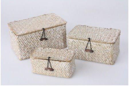 Set cajas con tapa