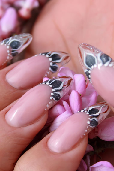 Trendy French Nail Art Designs