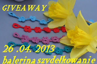 Wygrałam pocieszajkę :) 26.04.2013