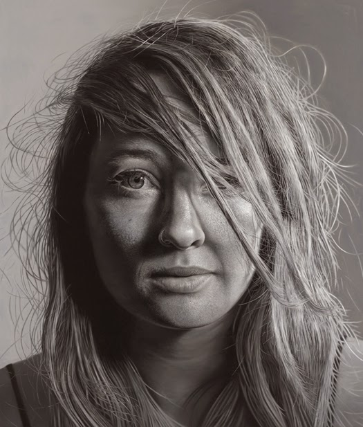 10-Charlie-Bierk-Black-and-White-Photo-Realistic-Paintings-www-designstack-co