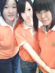 我和朋友的照片:D  ♥