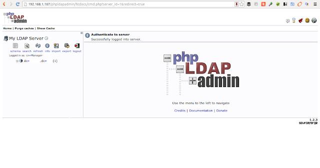 DriveMeca instalando phpLDAPadmin