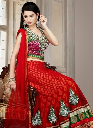 Indian Bridal Dresses for Girls