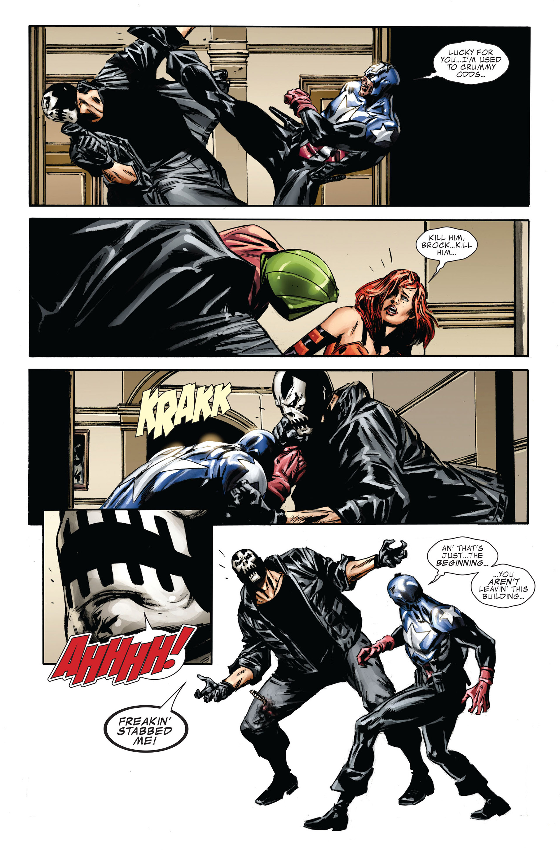 Captain America (2005) Issue #36 #36 - English 9