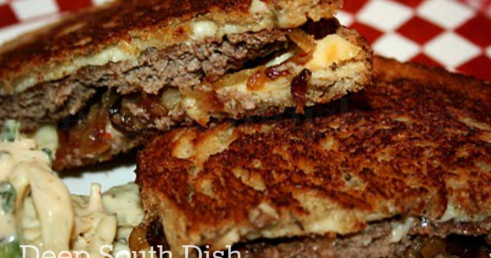 Deep south dish classic patty melt for What can you cook with ground beef