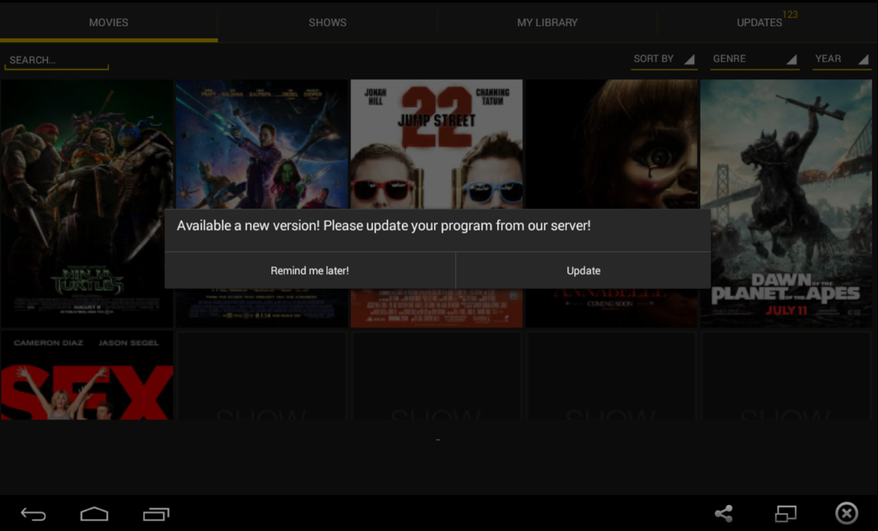 can you install showbox on pc