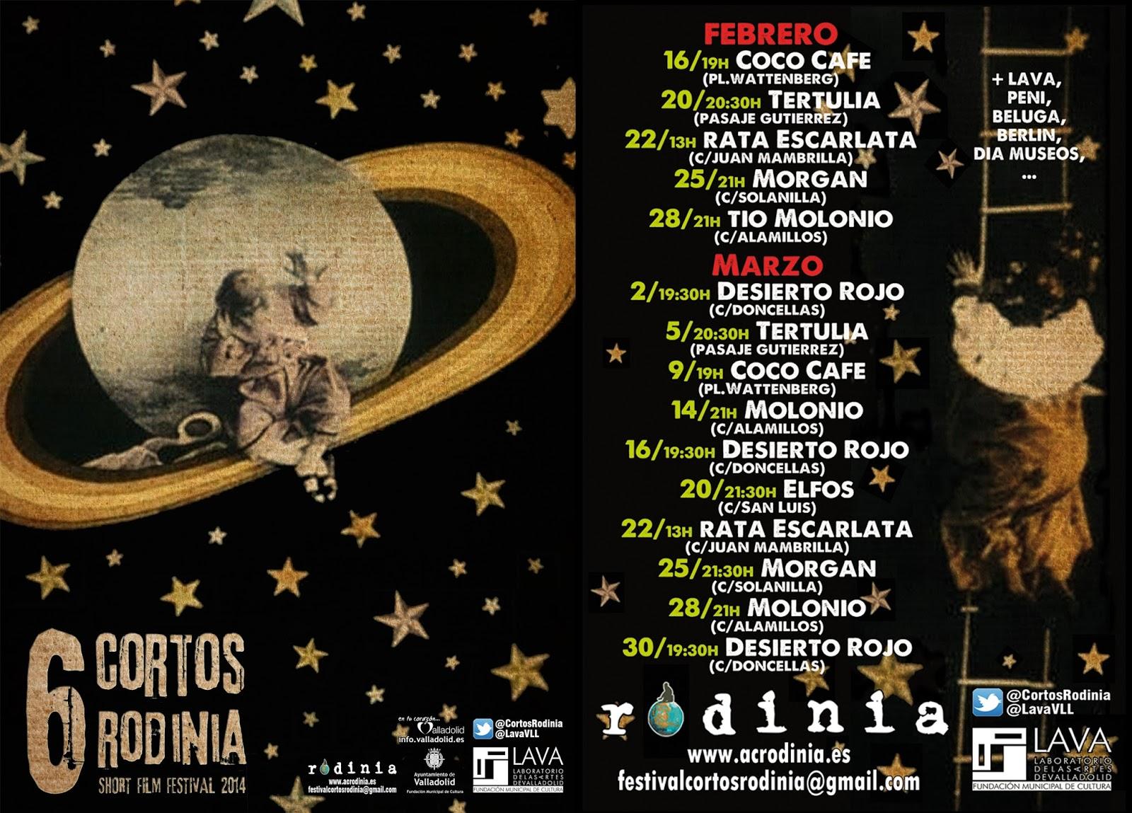 Festival Cortos Rodinia - Ratpilot - Avance Programación