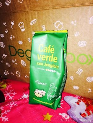 Café verde con jengibre Sadiet Degustabox Diciembre 2015