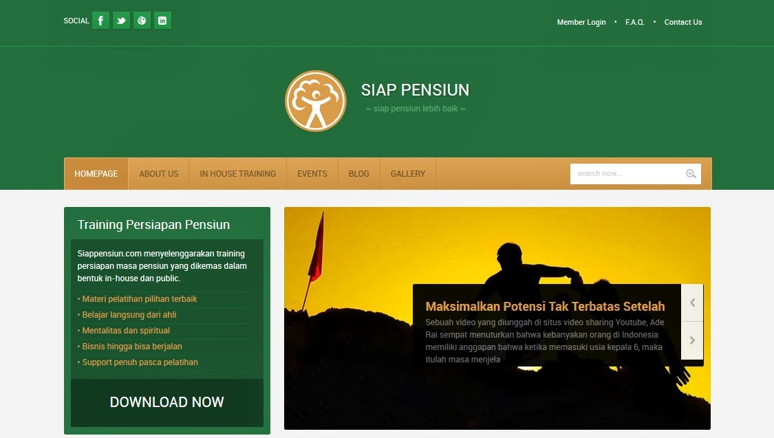 Screenshot Website Siappensiun.com