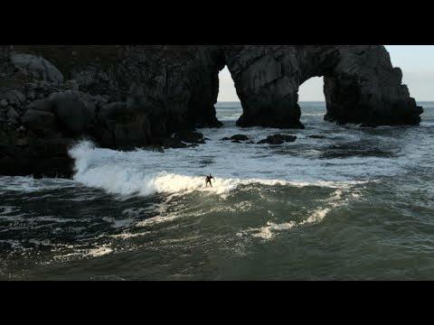 Kepa Acero Haizeacam - Surfing in San Juan de Gaztelugatxe