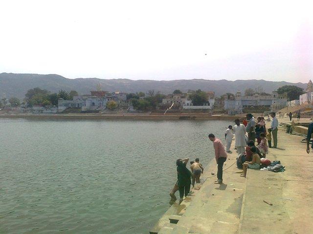 Pushkar Pilgrimage view