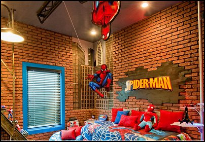 Superhero Bedroom Decorations