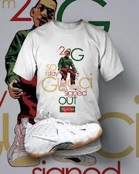 Nike Gucci Foamposite Tee