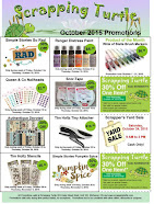 October Promotions Flyer