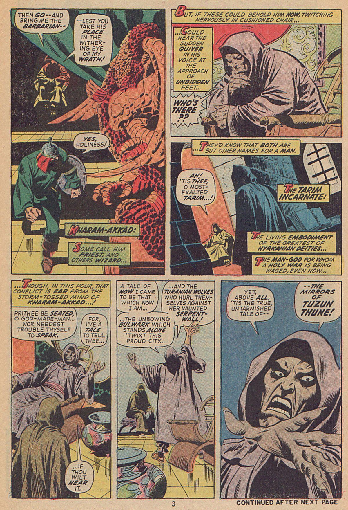 Conan the Barbarian (1970) Issue #25 #37 - English 4