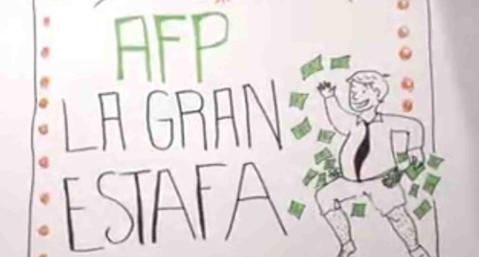 La increíble estafa de las AFP explicada paso a paso
