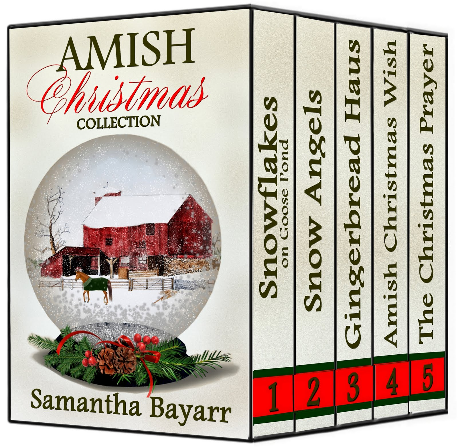 Amish Christmas Collection #1