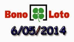 Bonoloto del martes 6 de mayo de 2014
