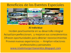 Beneficios de los Eventos Especiales