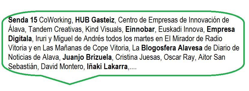 Los Balones de Oro de Internet en Vitoria Gasteiz