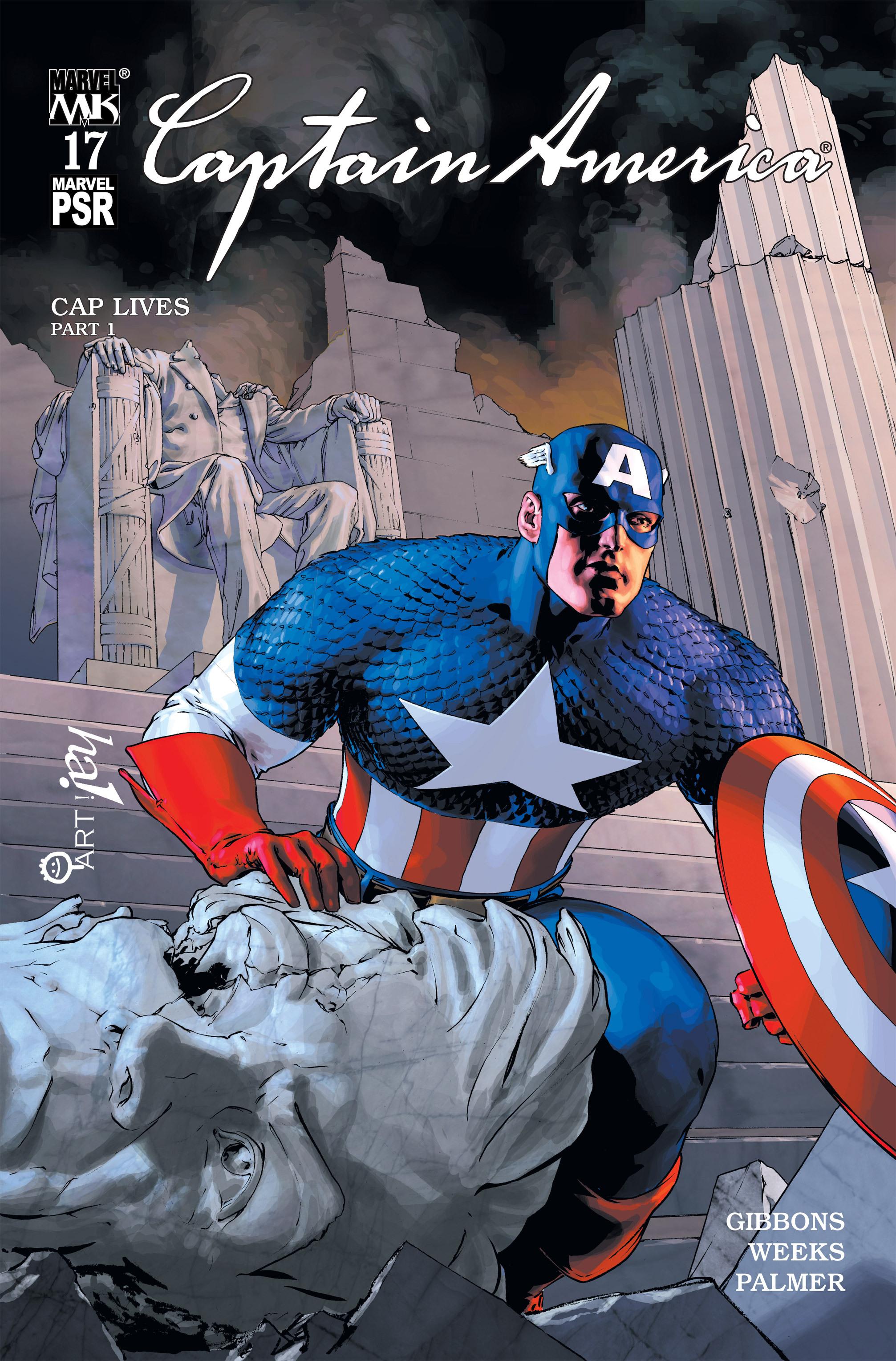 Captain America (2002) Issue #17 #18 - English 1