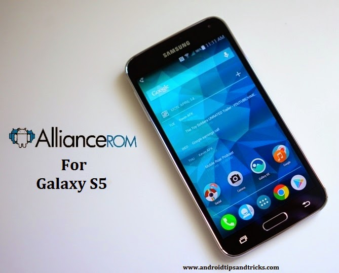 AllianceROM for Samsung Galaxy S5