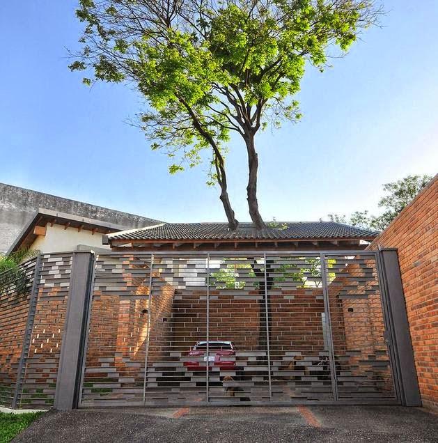 Desain Rumah Kecil dan Klasik untuk Keluarga
